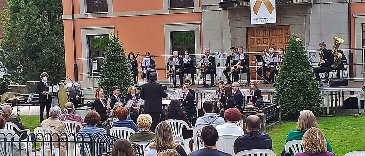 La Banda de Música, broche para una celebración atípica