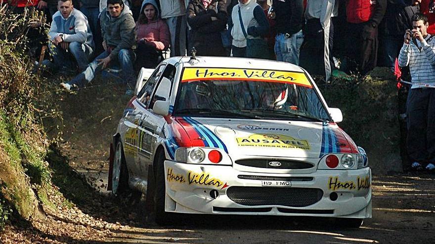 El Ford Escort de Toño Villar se va a un museo de Italia