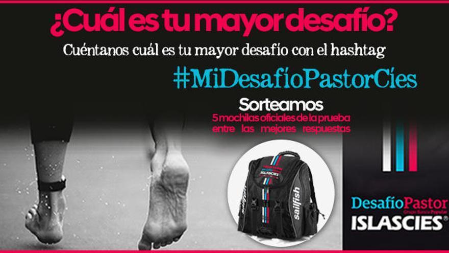 Participa en el sorteo #MiDesafíoPastorCíes