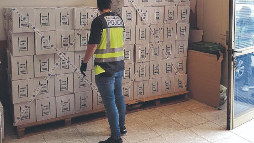 Dos detenidos en Güímar tras estafar 25.000 euros al comprar aceite de oliva