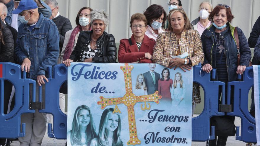 """""""Las Nórdicas"""" llevan casi dos décadas recibiendo a la Familia Real en Oviedo"""