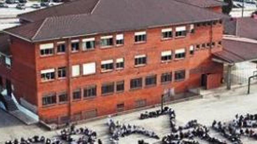 Cientos de alumnos afectados por el cierre de un edificio de un colegio en Burgos