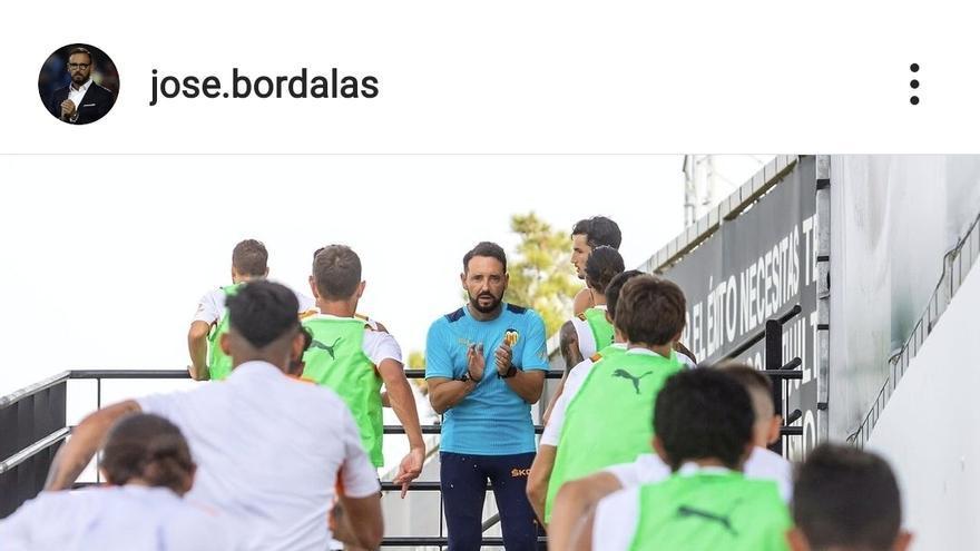 El mensaje público de Bordalás a sus jugadores