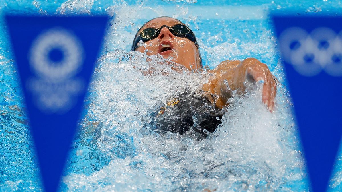 Mireia Belmonte busca su quinta presea olímpica.