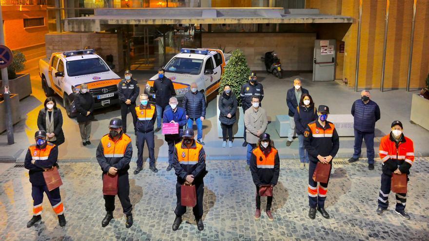 L'Horta homenajea a las agrupaciones de Protección Civil