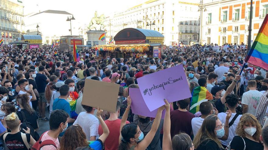 Milers de persones es manifesten arreu del país demanant justícia per Samuel