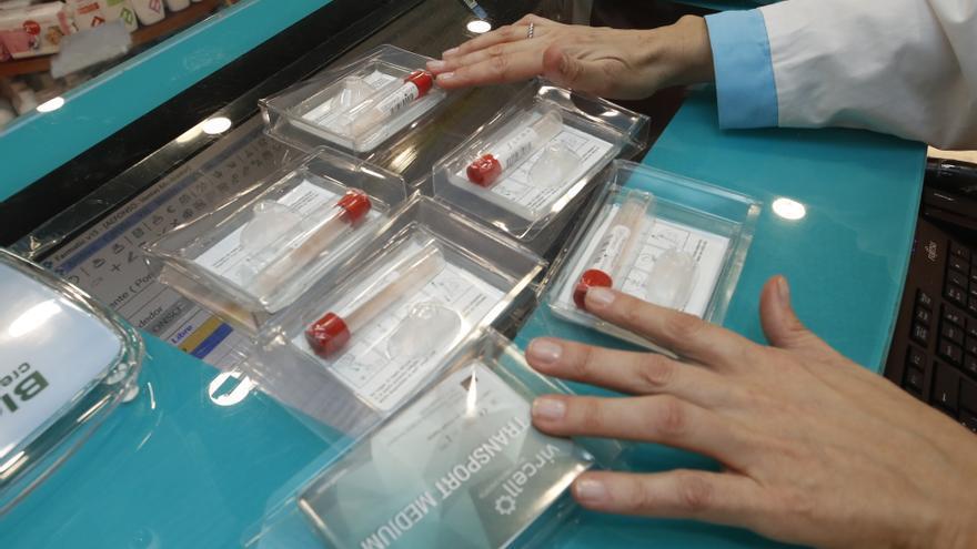 Las boticas de Vigo repartieron más de cinco mil test de saliva