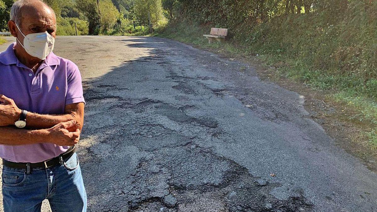 PP y vecinos urgen mejoras en una carretera de Talai