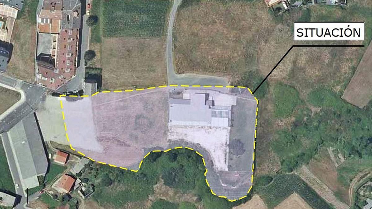 Ámbito del plan especial para el entorno de la escuela infantil de Vilarrodís. |   // LA OPINIÓN