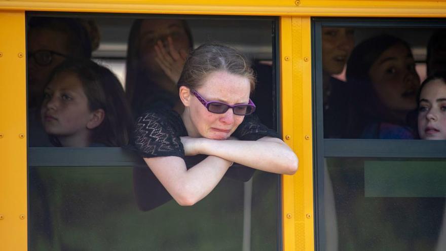 Un maestro y un estudiante heridos en un nuevo tiroteo en un colegio de Indiana