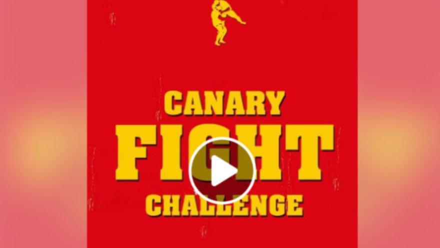 El 'Fight Challenge'  a lo canario que se vuelve viral