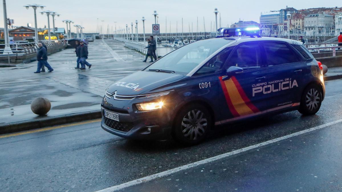 Imagen de archivo de un coche policial