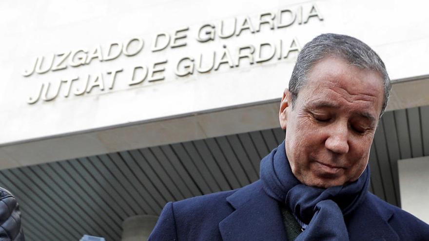 """La jueza sobre Zaplana: """"Los indicios de criminalidad perduran y se acrecientan con la instrucción"""""""