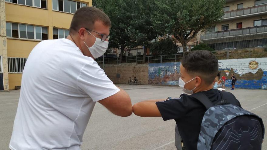 La segona tornada a l'escola en pandèmia genera més optimisme entre els pares