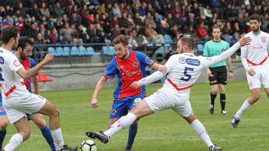 La UD Ourense acaba su travesía por las ligas provinciales