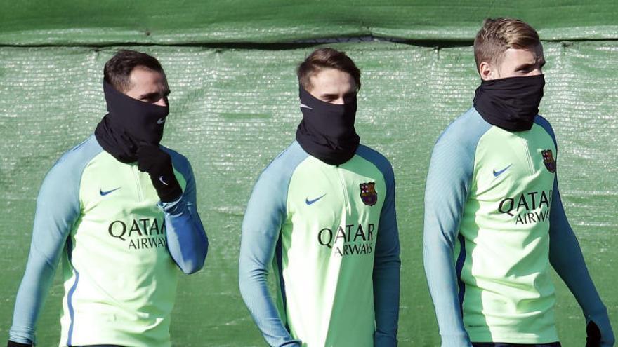 El Barça s'examina al seu camp maleït