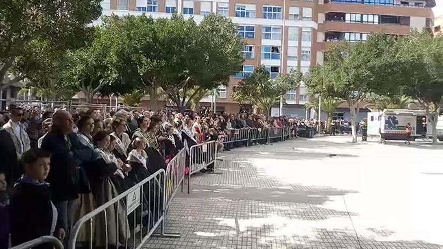 Castellón retumba con la mascletà de Gironina
