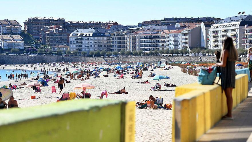 Sanxenxo fue el principal destino turístico de Galicia en el mes de septiembre