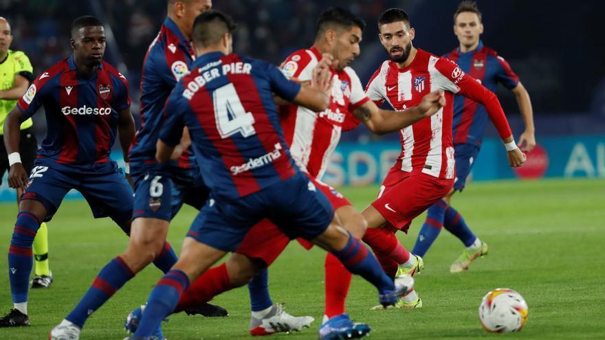 Sigue en directo el Levante-Atlético de Madrid
