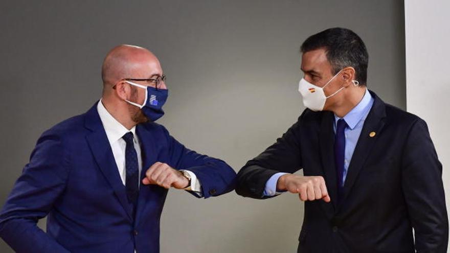 Pedro Sánchez se reúne con el presidente del Consejo Europeo