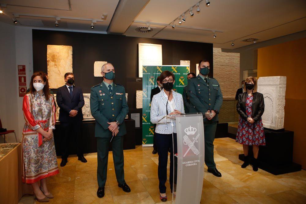 La Guardia Civil recupera en Córdoba más de 2.000 piezas arqueológicas