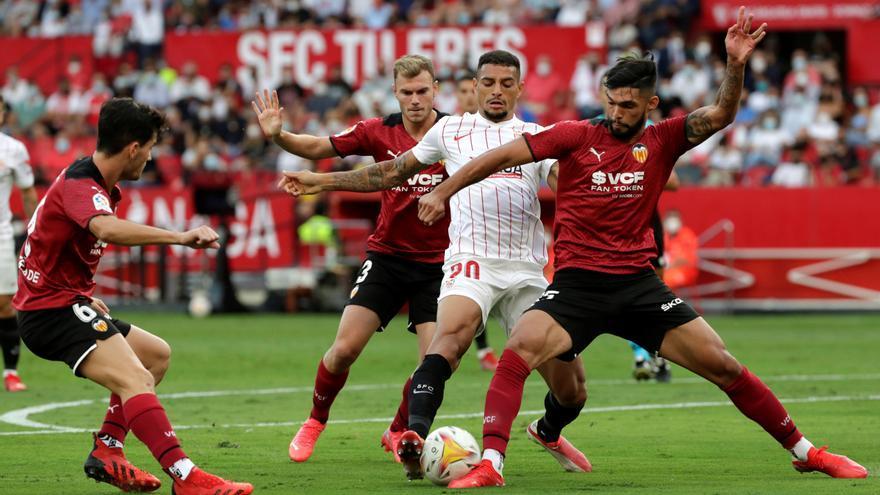 Pon nota a los jugadores del Valencia frente al Sevilla