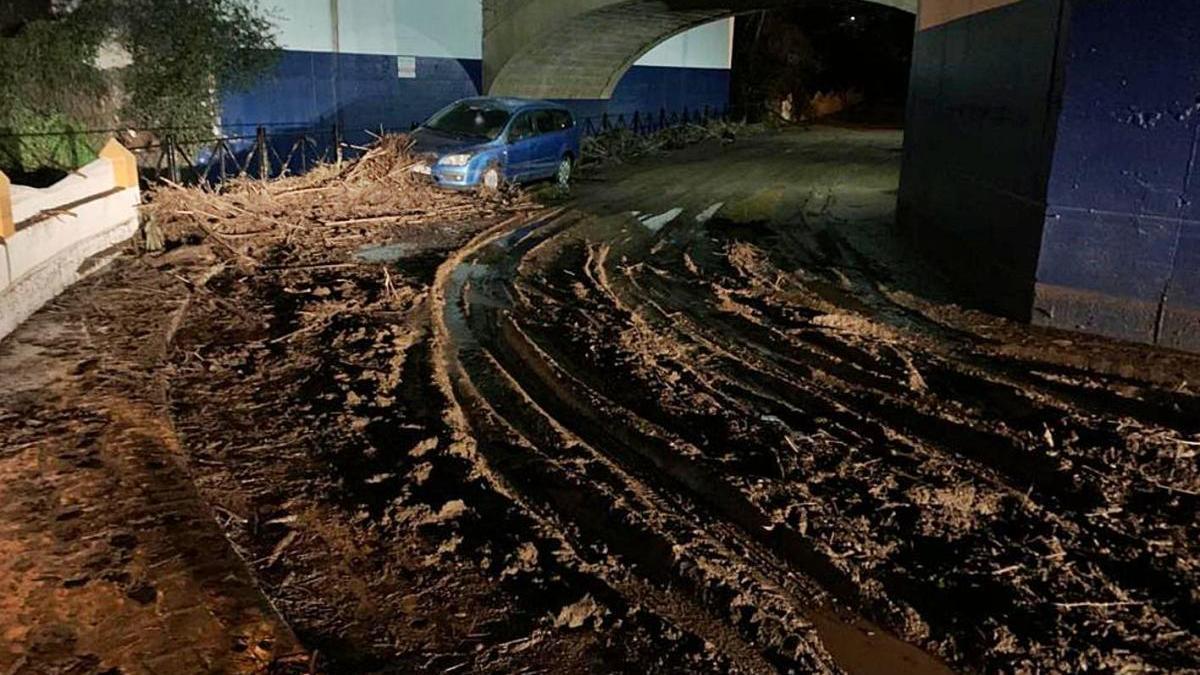Obras calcula en 170.000 euros los daños causados por Filomena