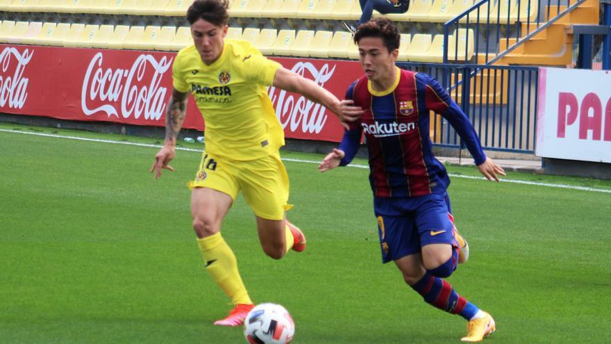 El Villarreal B cierra la temporada con derrota ante el Barcelona B (3-4)