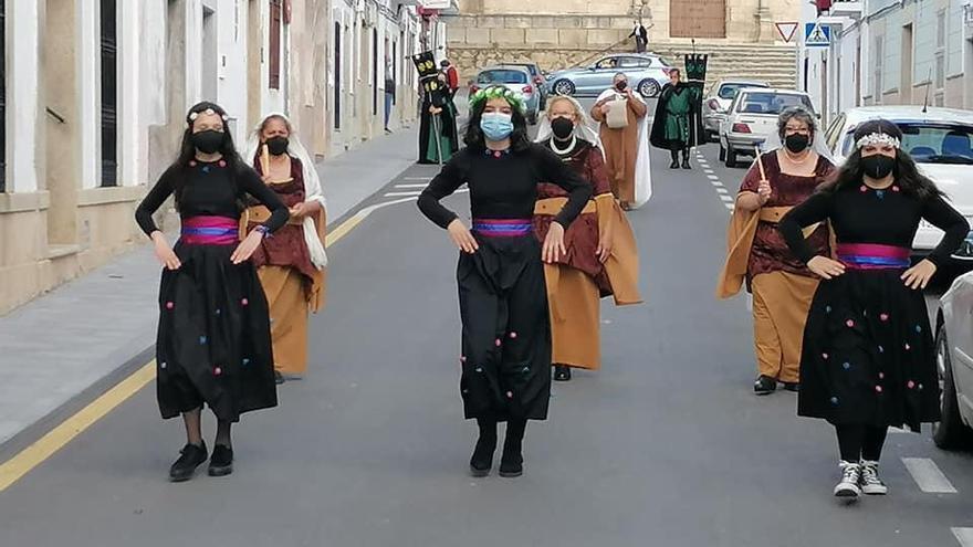 Pasacalles medieval en Malpartida
