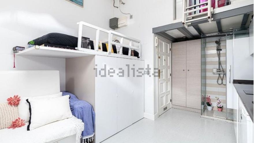 Nueva estafa inmobiliaria: un piso de 15m2 a la venta por 150.000 euros