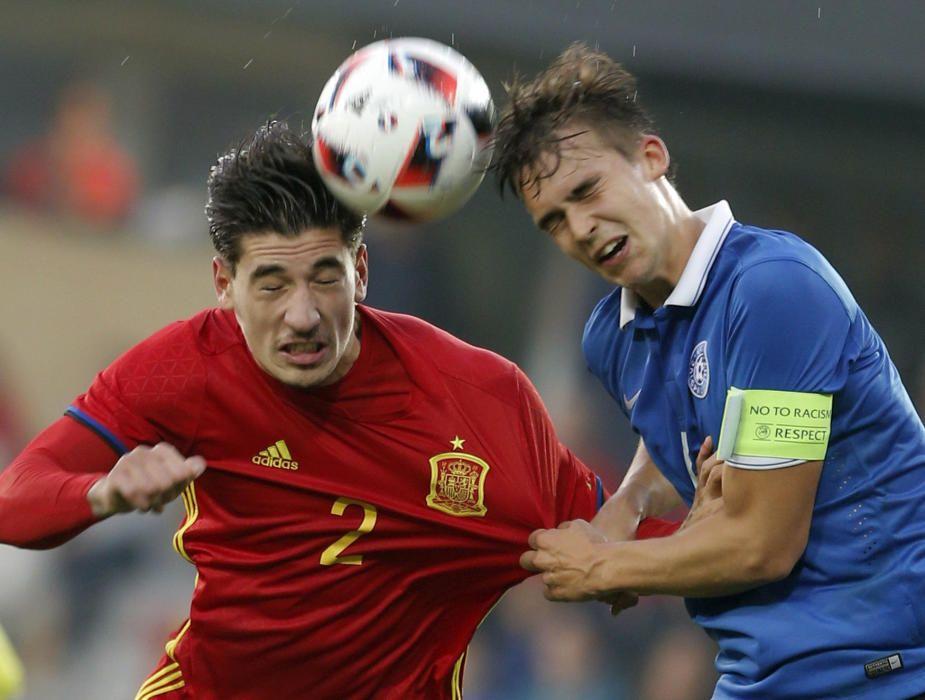 Fútbol sub 21: España - Estonia