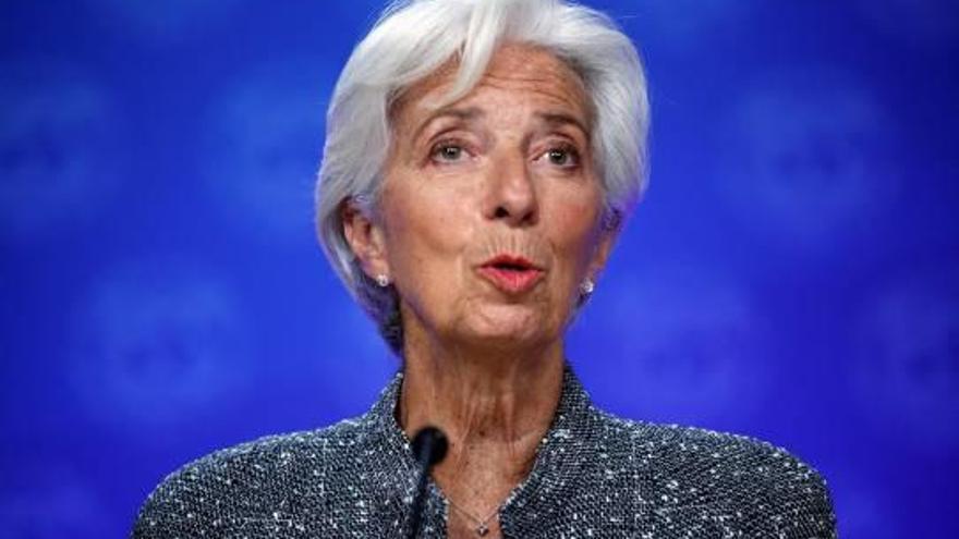 Christine Lagarde releva a Mario Draghi y pide a Alemania más inversión en la Unión Europea