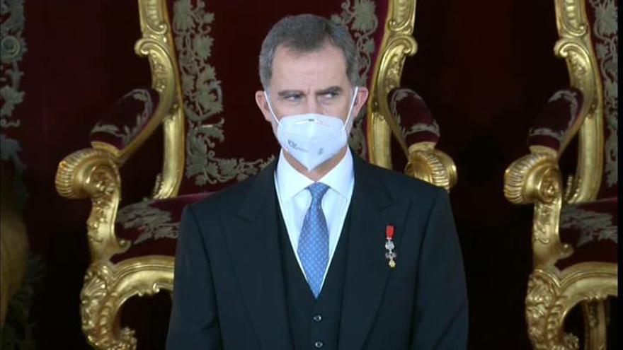 Felipe VI se congela el sueldo y destina el de su padre a otras partidas de la Casa Real