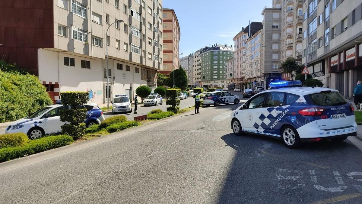 Archivo -  Policía Local de Lugo.