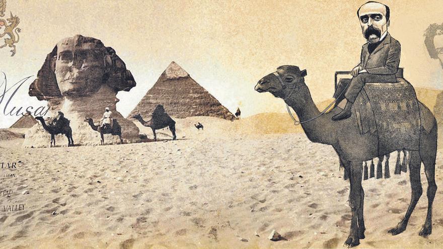 Flaubert: Un coloso viaja a Oriente