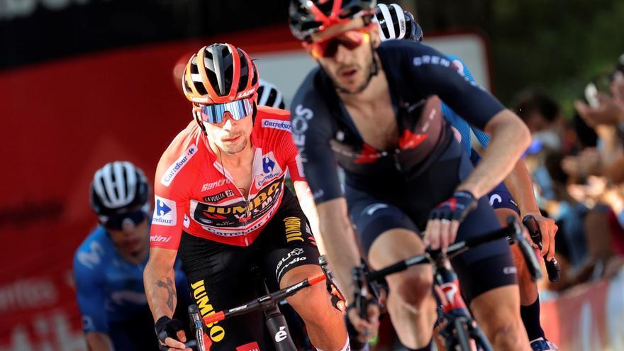 Vídeo resumen de la etapa 7 de la Vuelta a España 2021