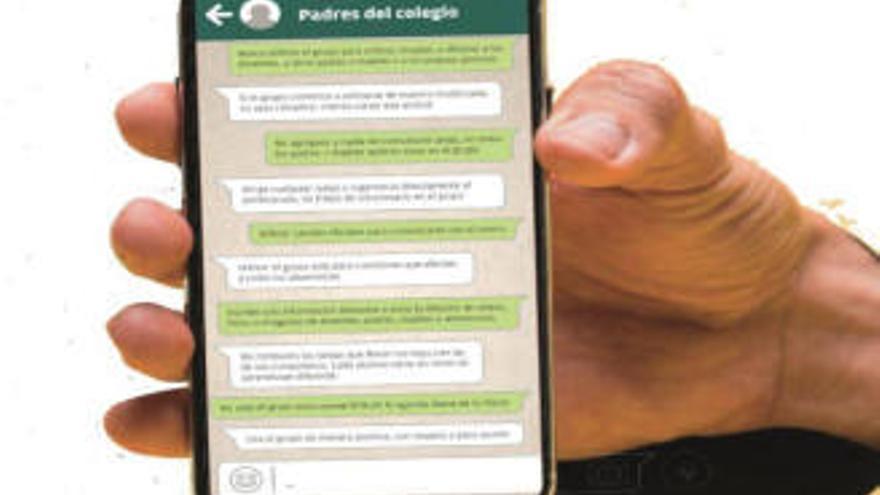 Cura para el dolor de cabeza de los grupos de Whatsapp de padres