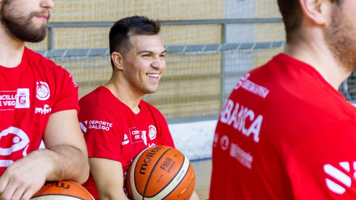 El jugador argentino Franco Alessandrini.