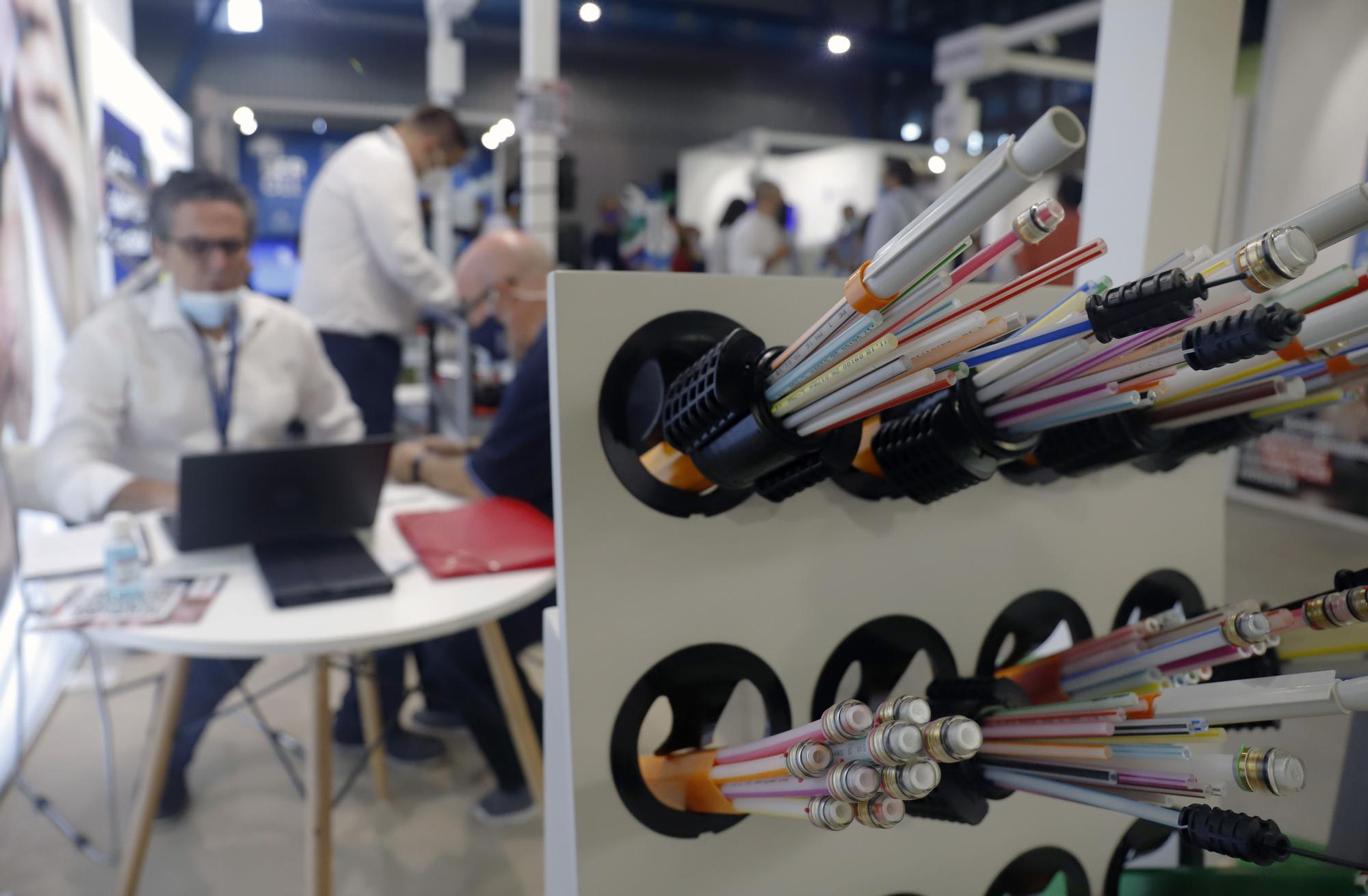 Congreso de telecomunicaciones Aeotec en el FYCMA