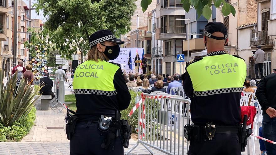 Almassora homenajeará a la sociedad civil en el Día de la Policía