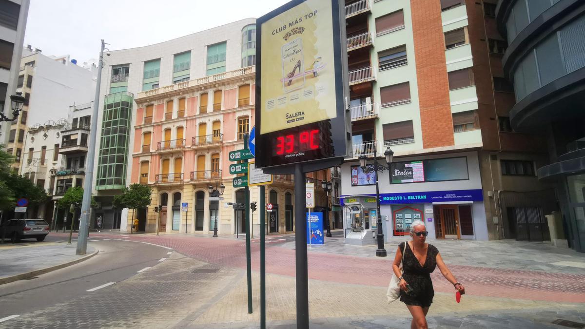 Calor sofocante en Castelló