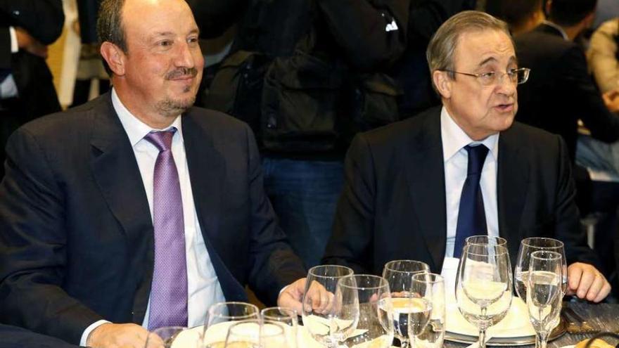 """Benítez es la solución"", asegura Florentino Pérez"