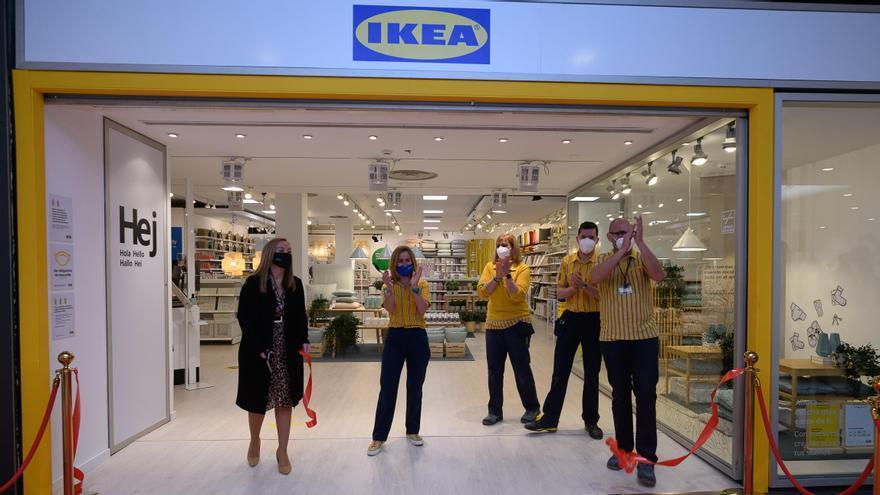 Inauguración de la nueva tienda de Ikea Valencia en el CC Saler