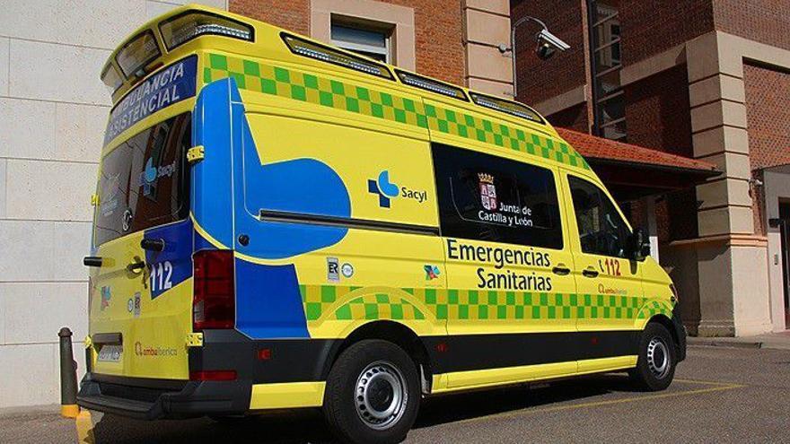 Evacuada en helicóptero una bebe de 4 meses herida en un accidente de tráfico en Monasterio de Rodilla (Burgos)