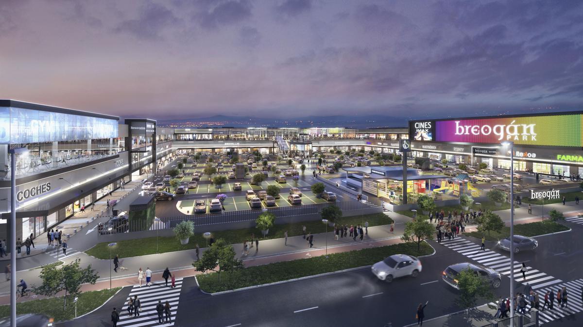 El nuevo parque comercial Breogán Park