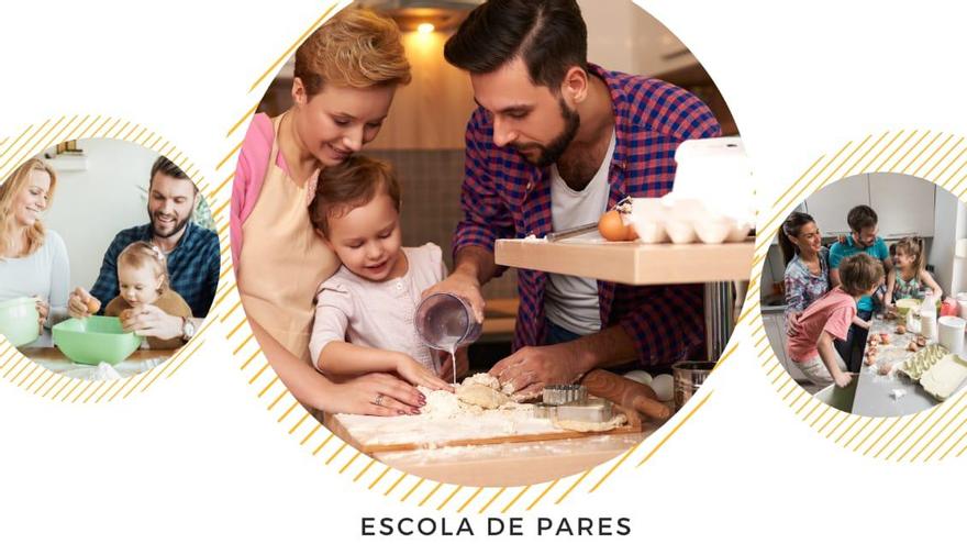Escola de pares: Planificació i hàbits nutricionalment saludables per a tota la família