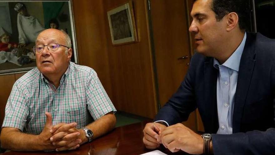 Fernández Prieto y Castro, ayer en la Junta.