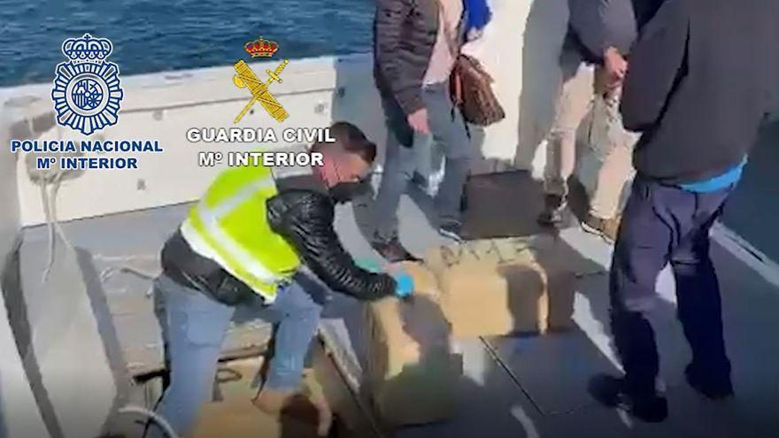 Golpe a la conexión entre los grandes narcos gallegos y andaluces