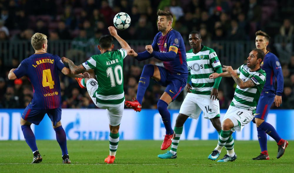 Champions League: Barcelona - Sporting de Lisboa