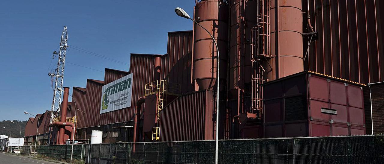 La fábrica de Triman Minerals en Vega de Arriba, en la que se produjo un robo. | Jandro Rodríguez